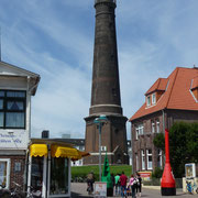 der neue Leuchtturm im Zentrum der Stadt