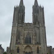 die Kathedrale von Coutances