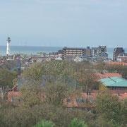der Strandabschnitt am Leuchtturm | Promenade Nord