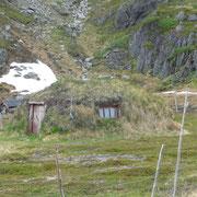 ... Hütten der Samen