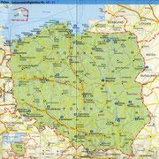 Polen in den heutigen Grenzen