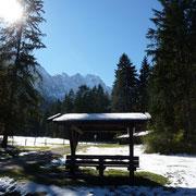 in der Nähe der Zugspitze