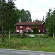 letztes Cafe auf der norwegischen Seite
