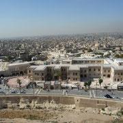 mit Blick auf Aleppo