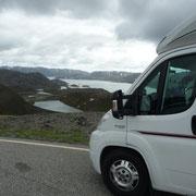 auf dem Weg zurück zum Porsangerfjord