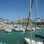 Bootshafen in Valery