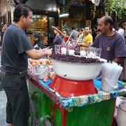 ein Getränkeverkäufer