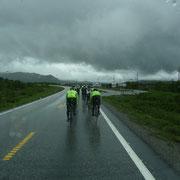 Radrennen von Trondheim nach Oslo (ca. 500 km) ...