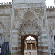 Zugang zur Moschee