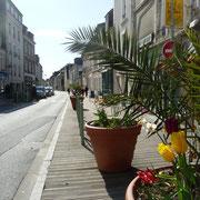 Straße in Grandcamp Maisy