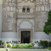 der Zugang zum Nationalmuseum