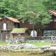 Häuser am Fjord