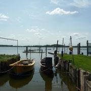 der alte Hafen an der Schlei