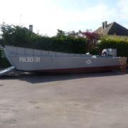 Landungsboot der Alliierten
