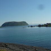 Insel im Porsangerfjord