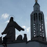 Christusstatue Rochus Kirche