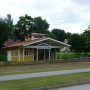 ein ehemaliger Bahnhof