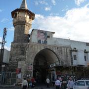 Moschee und Zugang zum Suq Hamidiye am Bab Tuma