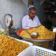 Kichererbsenverkäufer in Midan