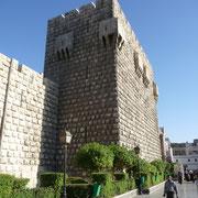 die Zitadelle in Damaskus