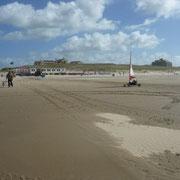Strandsegeln: das macht wohl viel Spaß