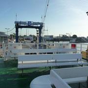 Abfahrt in Emden