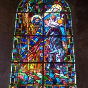 wunderschöne Kirchenfenster | Flucht nach Ägypten