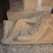 Verschluss einer Grabkammer
