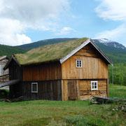 typische alte Häuser