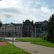 Stadttor | Zugang vom Rhein ...