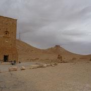 Gräberfeld in Palmyra