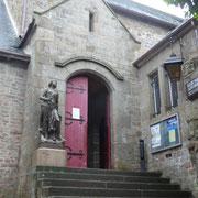 der Zugang zum Mont St. Michel