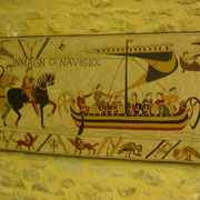 1000 Jahre alter Wandbehang ...