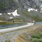 einer der vielen Tunnel