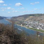 Ich hab den Vater Rhein in seinem Bett gesehen | Blick von der Kranenburg
