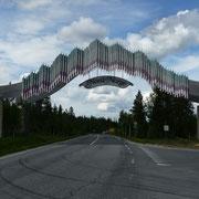 Grenze zu Nordnorwegen