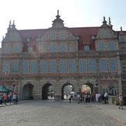 das grüne Tor in Danzig