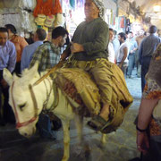 Transport im Suq Aleppo