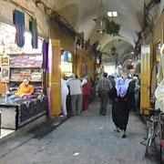 ein Gang des Suq in Aleppo