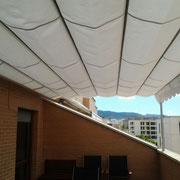 Toldos palillería techos