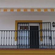 Toldos punto recto Pamplona