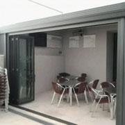 Cerramientos para bares Pamplona