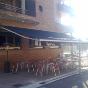 Toldos de brazos para restaurantes y bares Pamplona