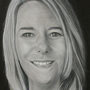 Christina, 50 x 70, Öl auf Leinwand, 2017