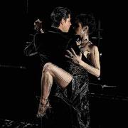 Erotic Tango Bearbeitete Fotografie