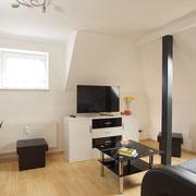 Wohnzimmer Ferienwohnung Basic