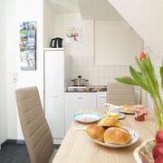 Küche Ferienwohnung Basic