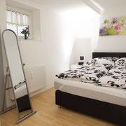 Schlafzimmer Ferienwohnung Basic