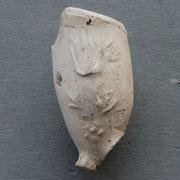 Fragment met Tulp versiering. Laatste decennia van 1600