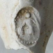 Hielmerk lijkt op Koning David, in spiegelbeeld